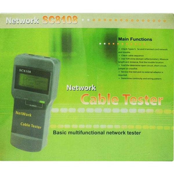 114718465 تستر کابل شبکه کد SC8108
