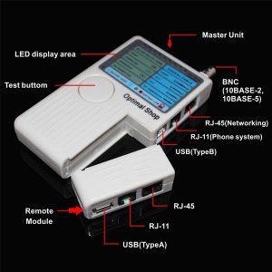 تستر کابل شبکه تلفن و دوربین تستر شبکه چیست و چه کاربردی دارد؟
