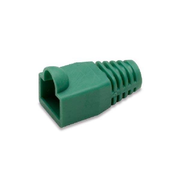 1کاور سوکت شبکه سبز کاور کانکتور رنگ سبز بسته 100 عددی
