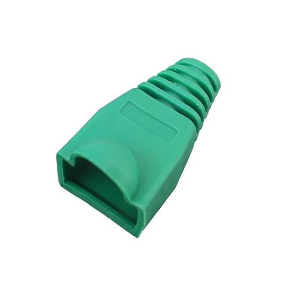 119043989 کاور کانکتور رنگ سبز بسته 100 عددی
