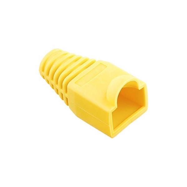 119914734 کاور کانکتور رنگ زرد بسته 25 عددی