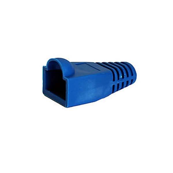 119914984 کاور کانکتور رنگ آبی بسته 100 عددی