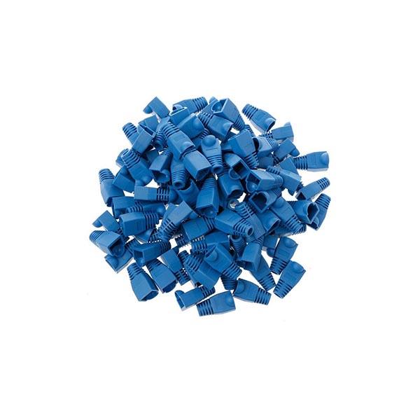119915001 کاور کانکتور رنگ آبی بسته 100 عددی
