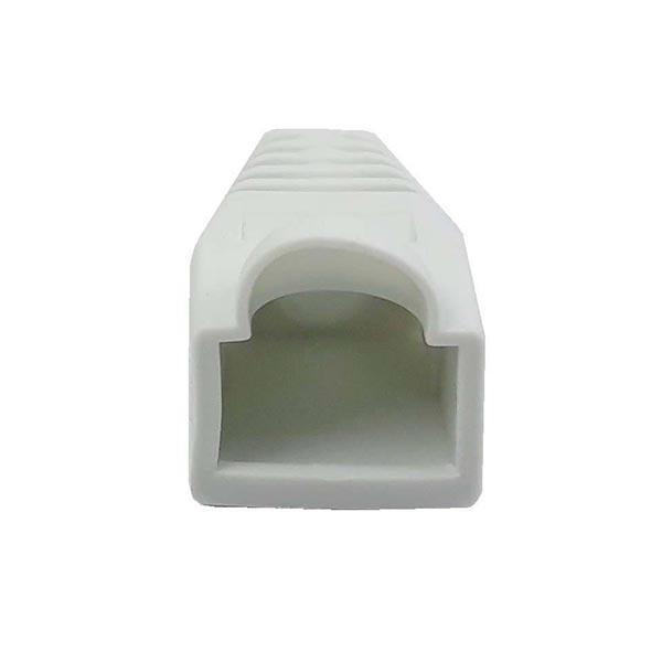 3fa6c8e4ec911cf546c21e4f4b9eb1507eefc0af 1600659278 کاور کانکتور رنگ سفید بسته 100 عددی