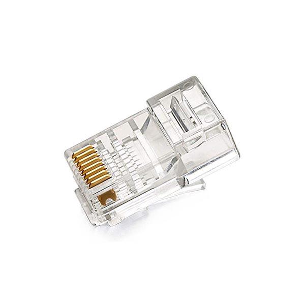4306383 کانکتور Cat6 ای ام پی (AMP) فلوک پاس (Fluke pass) بسته 100 عددی