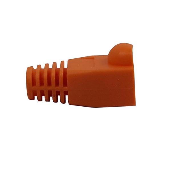 8ec49dcc01dc3513dfbe27b0a2977ebc88f108da 1599251942 کاور کانکتور رنگ نارنجی بسته 100 عددی