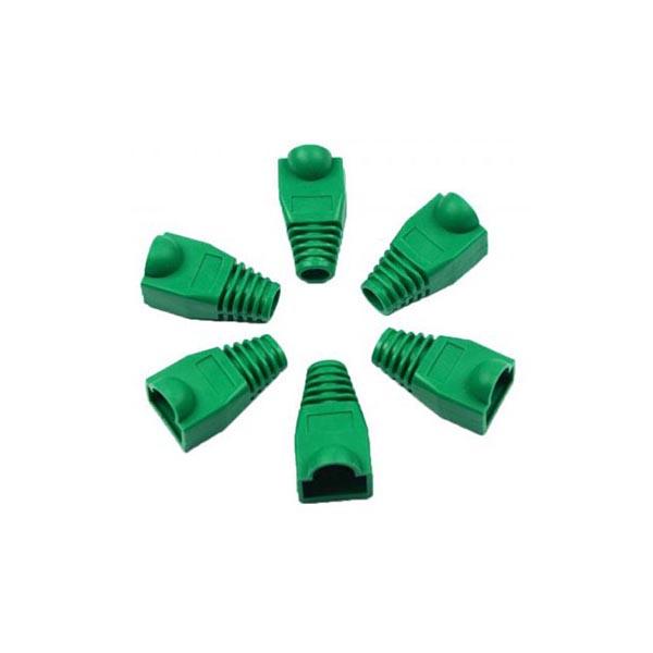 Cover Cap Socket Boots Cap Head 4 600x600 1 کاور کانکتور رنگ سبز بسته 100 عددی