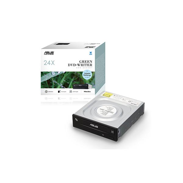 DRW 24D5MT BLK G AS P2G درایو DVD اینترنال ایسوس مدل DRW-24D5MT جعبه دار