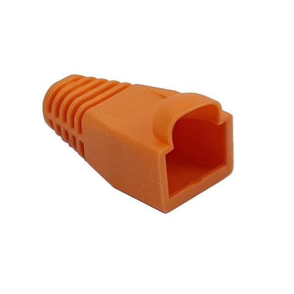aef956f1783cb0457ab89c526d1efd7316b7b8b3 1599251939 کاور کانکتور رنگ نارنجی بسته 100 عددی