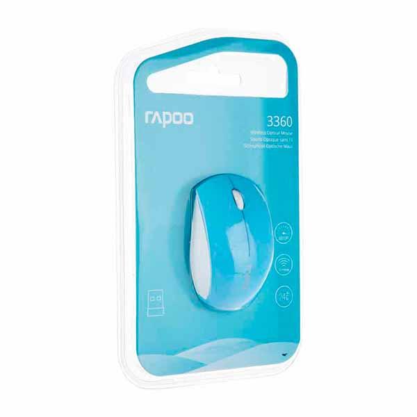 خرید ماوس بیسیم اپتیکال رپو 3360 Mouse Rapoo 1 ماوس بیسیم اپتیکال رپو مدل 3360