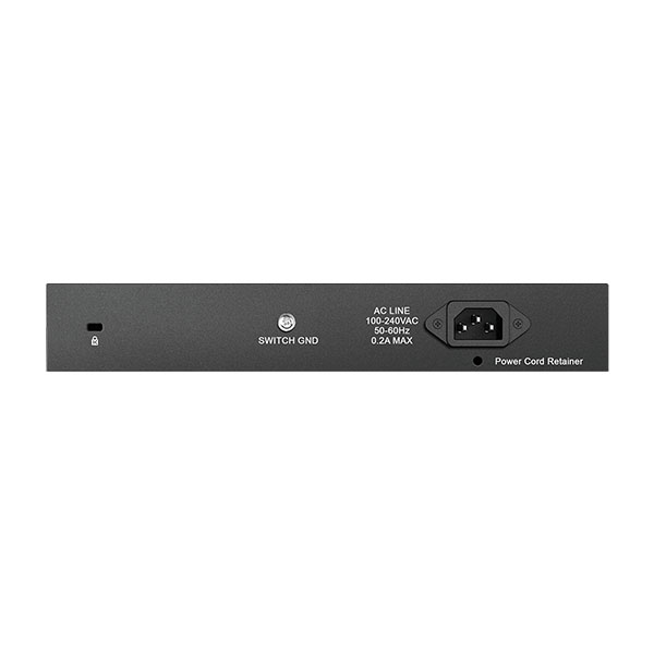 DGS 1016 D Back سوییچ 16 پورت گیگابیتی، غیر مدیریتی و دسکتاپ دی-لینک مدل DGS-1016D