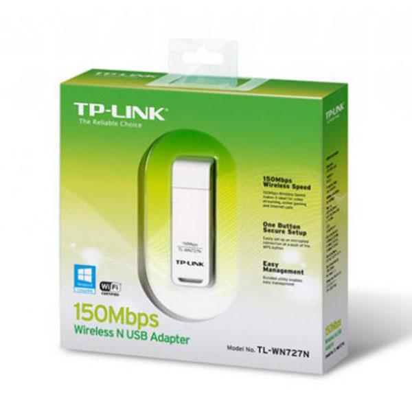 tp link tl wn727n 150mbit wireless n wlan stick 11b g n usb 20 adapter ver30 1 کارت شبکه بیسیم تی پی-لینک مدل TL-WN727N